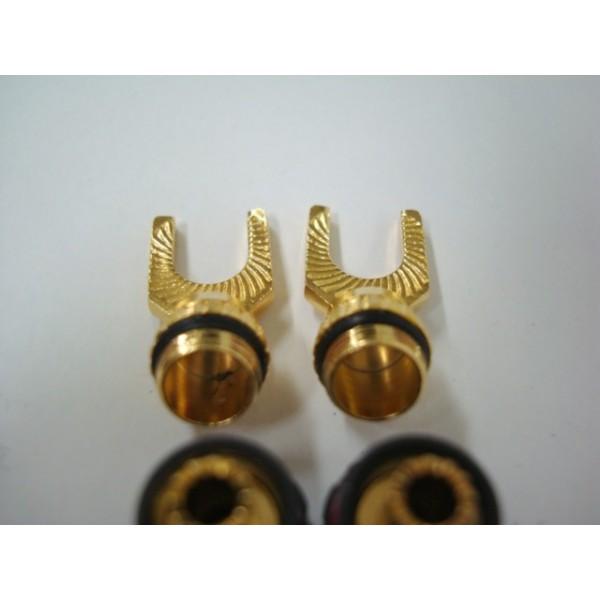 ก้ามปู Monster Quicklock Mkii Gold Angled Spade