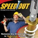 Speed Out ชุดช่วยถอนสกรู น็อต ที่เสียหรือหัก