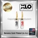 XLO Banana Plug ทองแดงชุบทอง 24K Gold Plated รุ่น XL1