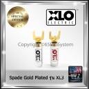 XLO Spade Plug หัวก้ามปู ทองแดงชุบทอง 24K Gold Plated รุ่น XL3