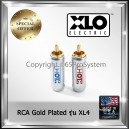 XLO RCA Plug Connector 8.5mm XL4