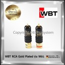 WBT Locking RCA Plug หัว RCA Gold Plated Connector หัว RCA 8.5mm รุ่น WB1