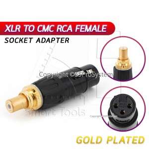 ขาย Adapter XLR to RCA  (XLR Female to RCA Female) XLR Neutrik RCA CMC