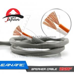 สายลำโพง Canare 2S9F 2 x 14AWG (2 x 2.18 SQ.mm.) 2 Core Speaker Cable Made in Japan