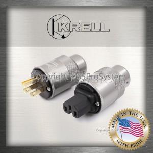 Krell หัว-ท้าย ปลั๊ก IEC (Gold Plated)
