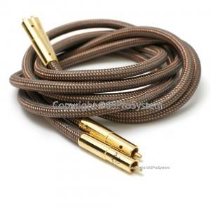สายสัญญาณ สาย RCA Accuphase 40th Anniversary Edition OCC pure copper RCA Interconnect Audio Cable Gold plated plug