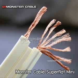 สายลำโพง Monster Superflat Mini ขนาด 16AWG